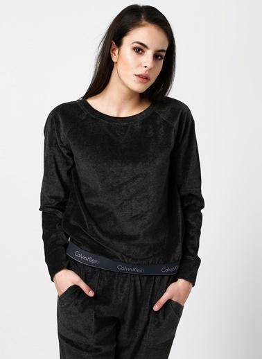 Calvin Klein Pijama Üst Siyah
